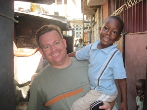 Haiti: Greg H and Child